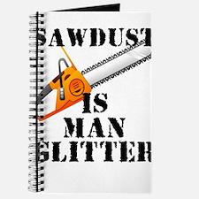 Sawdust Is Man Glitter Journal