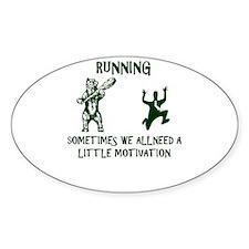 RUNNING sometimes we all need a little mot Decal