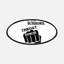 Rock, Paper, Scissors, Throat Punch! I win! Patch