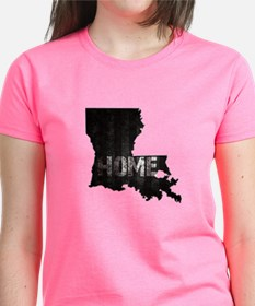 Louisiana Home Black and Whit Tee
