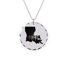 Louisiana Home Black and Whi Necklace