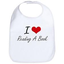 I love Reading A Book Bib