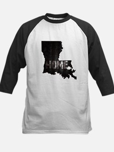 Louisiana Home Black and White Baseball Jersey
