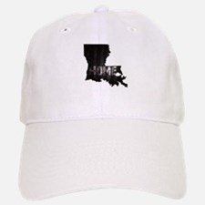 Louisiana Home Black and White Baseball Baseball Cap
