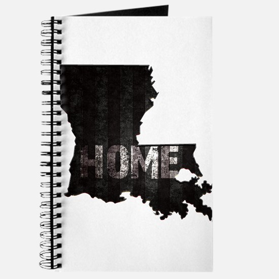 Louisiana Home Black and White Journal