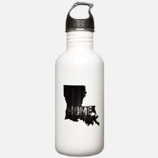 Louisiana Home Black a Sports Water Bottle