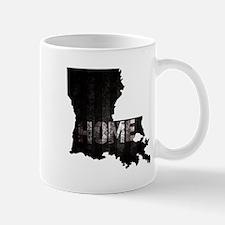 Louisiana Home Black and White Mugs