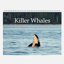 Wall Calendar-Killer Whales