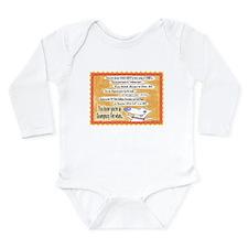 Cute Veterinary medicines Long Sleeve Infant Bodysuit