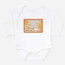 Cute Vet med Long Sleeve Infant Bodysuit