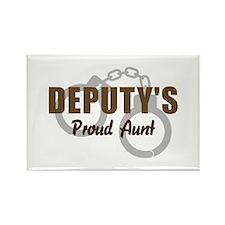 Deputy's Proud Aunt Rectangle Magnet