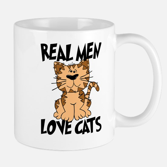 Real Men Love Cats Mugs