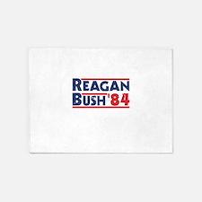 Reagan Bush '84 5'x7'Area Rug