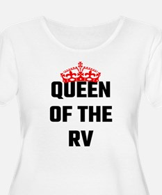 Queen Of The RV Plus Size T-Shirt