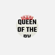 Queen Of The RV Mini Button