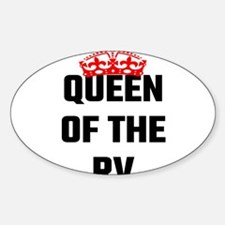 Queen Of The RV Decal