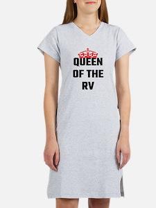 Queen Of The RV Women's Nightshirt