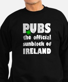 PUBS the official sunblock of IR Sweatshirt (dark)