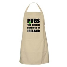 PUBS the official sunblock of IRELAND Apron