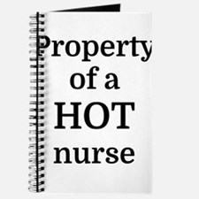 Property of a HOT nurse Journal