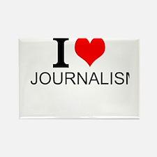 I Love Journalism Magnets