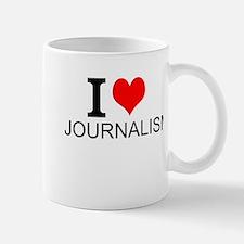 I Love Journalism Mugs
