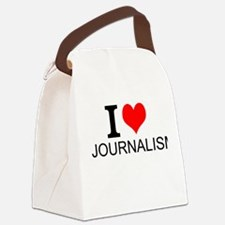 I Love Journalism Canvas Lunch Bag