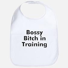 Bossy Bitch in Training Bib