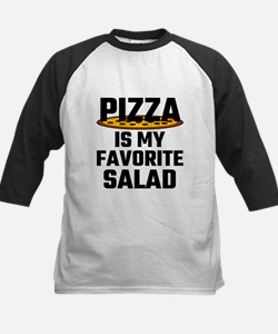 Pizza Is My Favorite Salad Baseball Jersey