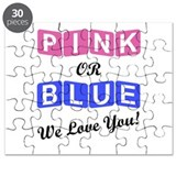 Gender reveal baby Puzzles