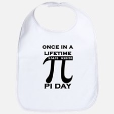 Once Upon A Time 3.14.15 Pi Day Bib