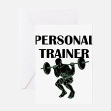 Personal Trainer Greeting Cards