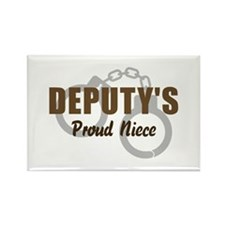 Deputy's Proud Niece Rectangle Magnet