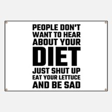 People Don't Want To Hear About Your Diet Banner