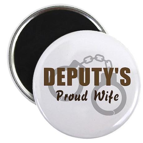 Deputy's Proud Wife Magnet