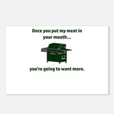 Once you put my meat in y Postcards (Package of 8)