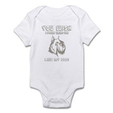 Schnauzer Infant Bodysuit