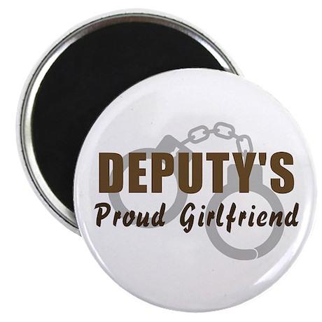 Deputy's Proud Girlfriend Magnet
