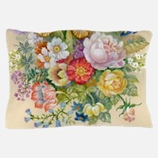 Flower Painting Pillow Case