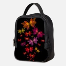 Digital Butterflies Neoprene Lunch Bag
