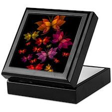 Digital Butterflies Keepsake Box