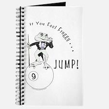 9 Ball Frog Cartoon Journal