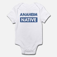 ANAHEIM native Infant Bodysuit