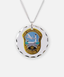 Funny Police badge Necklace