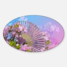 Floral Fan Decal