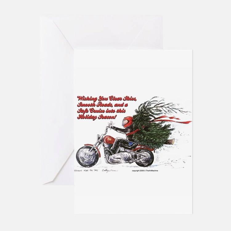 Cute Motorcycle Greeting Cards (Pk of 20)