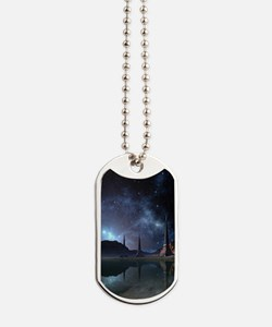 Alien World Dog Tags