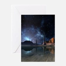 Alien World Greeting Card