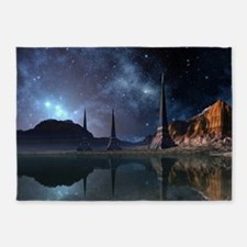 Alien World 5'x7'Area Rug