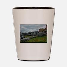 Gettysburg National Park - Devil's Den Shot Glass